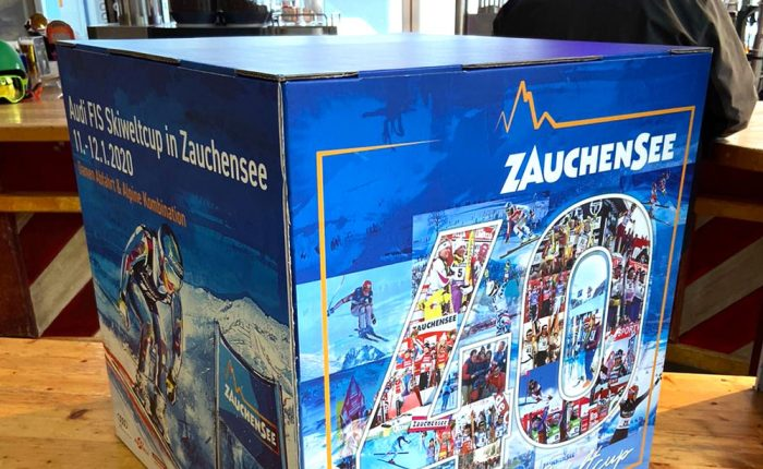 Cube Design for the Ski World Cup 2020 in Zauchensee
