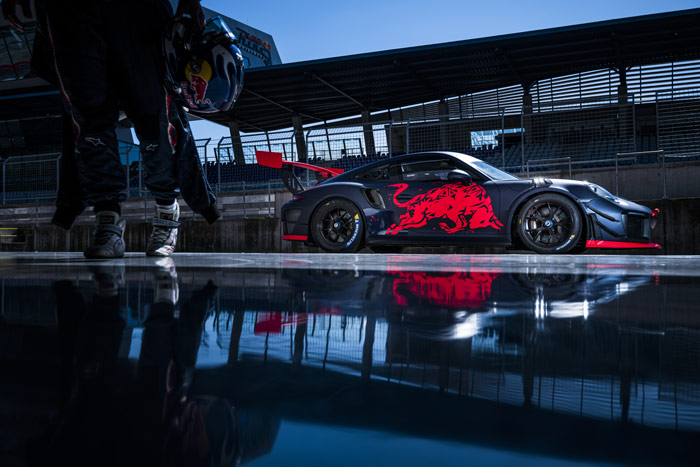 Projekt Spielberg Porsche Branding