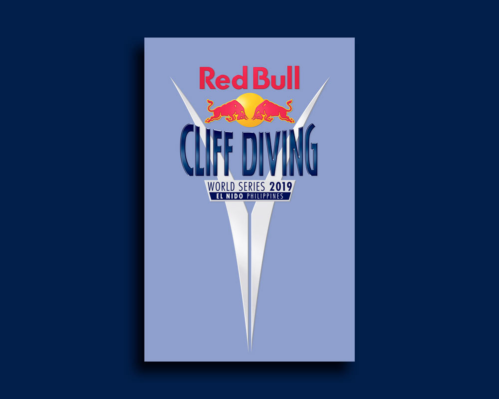Red Bull Cliff Diving Logo Design by Sign Creative
